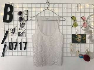 River Island Lace Tank Top