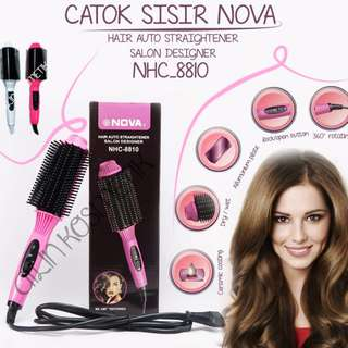 catok sisir blow nova ls 189 hair dryer sisir
