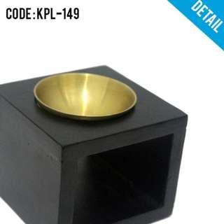 PROMO TUNGKU LILIN AROMATERAPI (KPL-149)