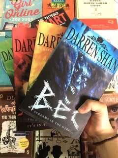4 Darren Shan books