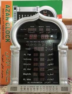 24HRS DIGITAL AZAN CLOCK