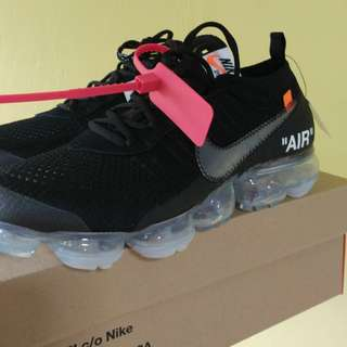 US9.5 Nike Air Vapormax x off white