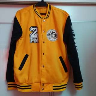 2PM Wooyoung Varsity Jacket - Size L