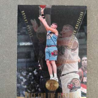 NBA 1995-96 Card (Bryant Reeves)