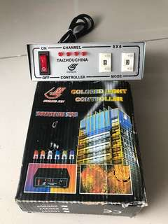 Controller for 240v led strip