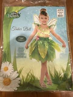 Tinker Bell costume Size Medium