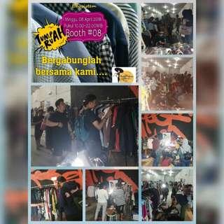 Hai Prelove lagiii bazaar di Tumpah Ruah 8 April 10.00-22.00 😘