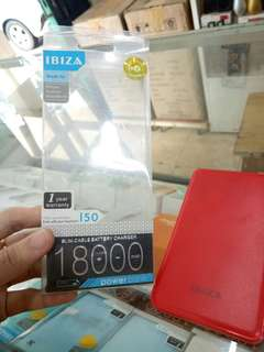 Powerbank IBIZA 18000 mAh
