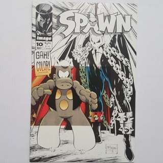 Image Comics Spawn 10 Near Mint Condition Todd McFarlane Art and Story