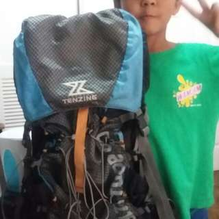 Tenzing Over Head Hiking Bag (For Mountaineers and other outdoor escapades)