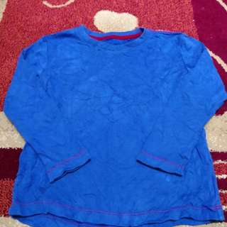 Uniqlo Blue Shirt (4-5t)