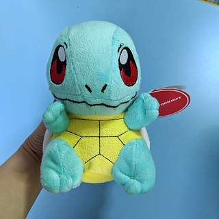 BNWT Squirtle Soft Toy