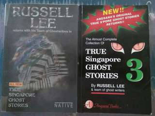 True Singapore Ghost Stories Bundle by Russell Lee