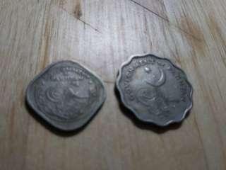巴基斯坦帀二枚