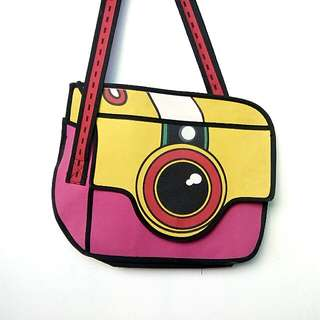 Cute 3D Art Bag / Laptop Bag