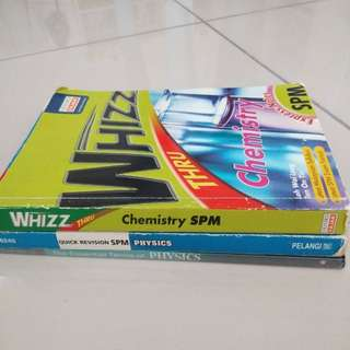 SPM Chemistry & Physic Reference Book