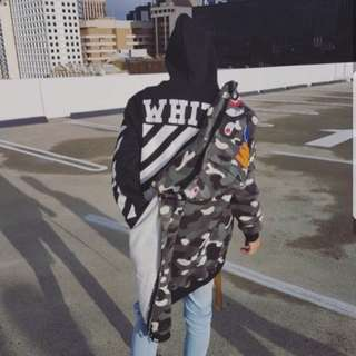 Off white hoodie size L