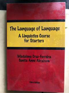 The Language of Language (Third Edition)