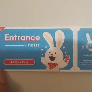 All day pass ticket miniapolis Plaza Indonesia