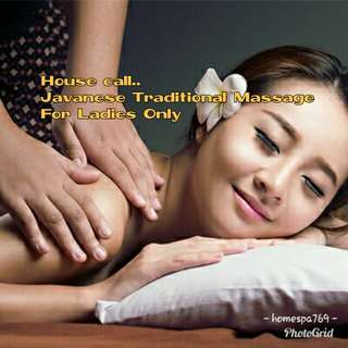 HOUSE-CALL JAVANESE TRADITIONAL MASSAGE