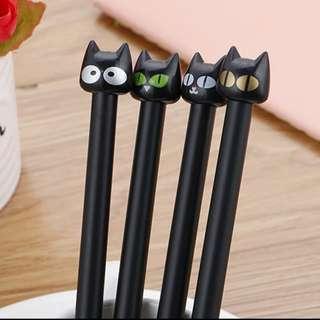 Small Black Cat Pen