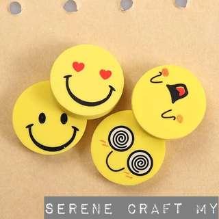 {PWP} 3pcs Emoji Eraser
