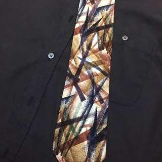 YSL 絲質領帶