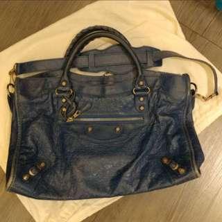 Balenciaga Giant City Bag Bleu Cobalt