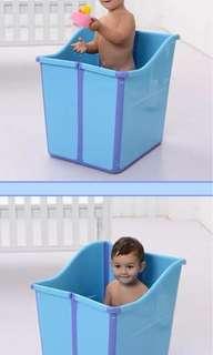 Brand new XL foldable bath tub baby & kids