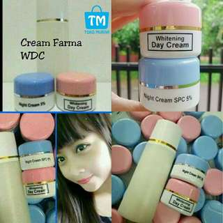 Paket crem farma wdc ORIGINAL 3IN 1