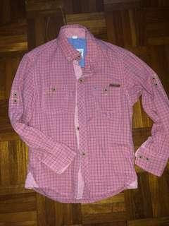 Pink longsleeves top