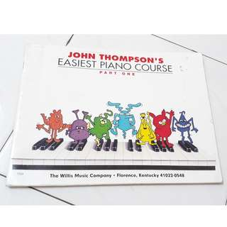John Thompson easiest piano course piano music book