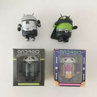 Set Of android Figurines Collectibles