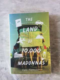 The Land of 10,000 Madonnas by Kate Hattemer / Preloved YA Books for Sale