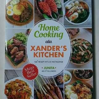 Buku Home Cooking ala Xanders Kitchen
