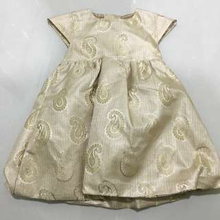 Baby Gold Dress