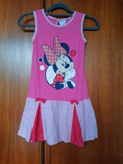 Pink Mickey Mouse Dress