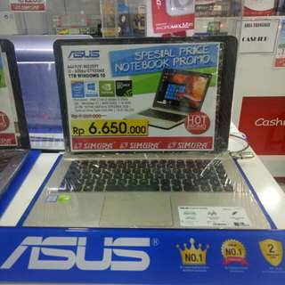 Kredit Laptop Asus X441UV Core i3