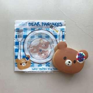 SQUISHY mini bear pancakes