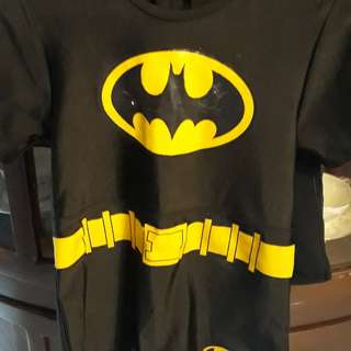 Batman Costume/Rash guard for 3-4 years old
