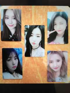 Gugudan Limited ed Concert photocards