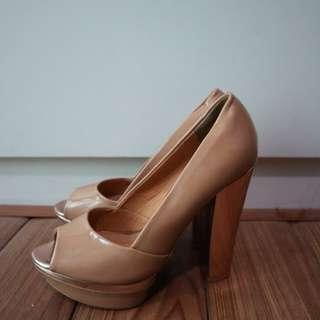 Parfois Peep Toes High Heels