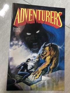 Adventurers number 0 issue