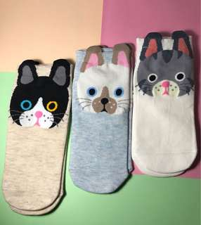 Cartoon Ears Socks