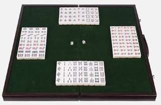 Mini Mahjong Set (Board, tiles & dice)