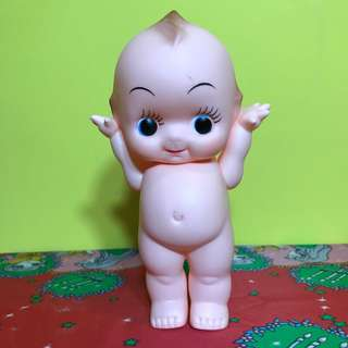 日本帶回 站立款 懷舊 Kewpie キユーピー Q比 娃娃