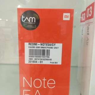 Redmi Note 5A Baru,Promo Cicilan tanpa kartu kredit proses 3 menit