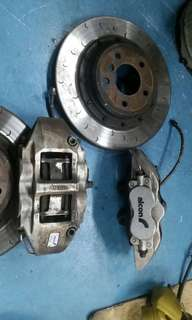 BMW 335i Alcon brake calipers (Rear only)