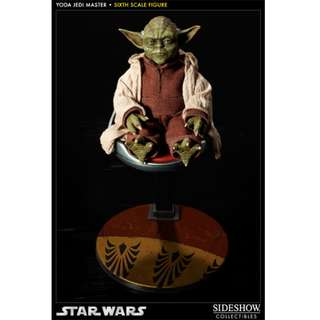 Sideshow Star Wars Yoda 1/6 Jedi Hover chair (not Hot Toys, Enterbay)