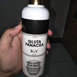 Body lotion gluta panacea